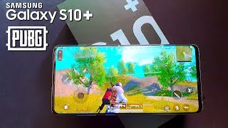 PUBG Mobile on Samsung Galaxy S10+ Gaming Test (HDR-Graphics)