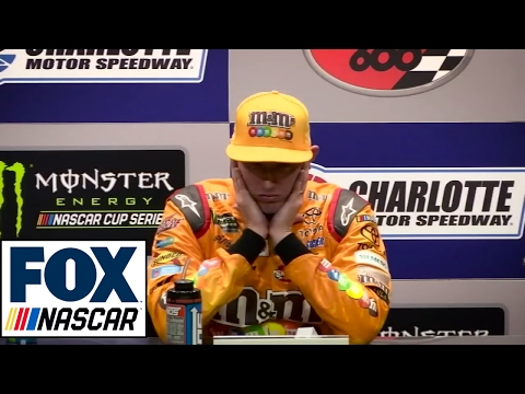 Reacting to Kyle Busch's Post Race Interview   NASCAR RACE HUB