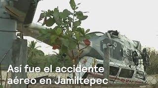 Accidente de helicóptero en Oaxaca, el más grave de la Fuerza Aérea - Despierta con Loret clip2f