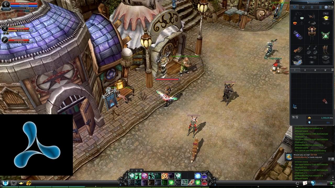 Cabal Online Slot Extender