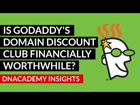 Is GoDaddy's Domain Discount Club Financially Worthwhile?