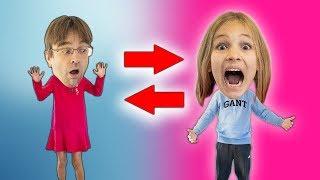 Download Amelia and dad magic body swap adventure, super fun! Mp3 and Videos