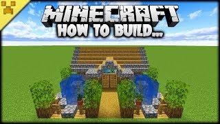 Minecraft | How to Make a MINECRAFT STARTER HOUSE (Tutorial) Video
