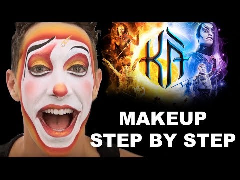 Learn How to Re-Create the Valet Makeup | KA | Makeup Step by Step | Cirque du Soleil