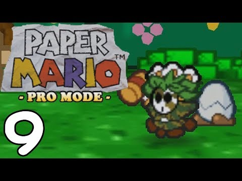 """Paper Mario Pro Mode BLIND [9] """"The Back-up Plan"""""""