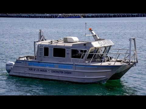 Port of Los Angeles Conducts Hydrographic Surveys of L.A. Harbor