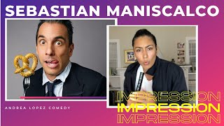 Sebastian Maniscalco Impression By Andrea Lopez // Andrea Lopez Comedy