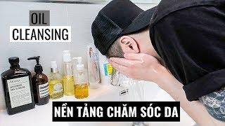 RỬA MẶT ĐÚNG CÁCH CHO NAM 2019 | 3-Step Cleansing Skin Care Routine