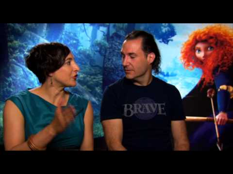 BRAVE - Pixar Interviews with Mark Andrews and Katherine Sarafian