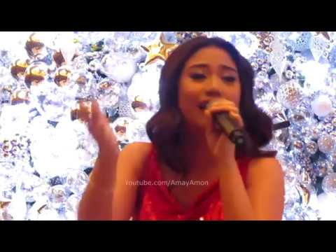 Morissette Amon Oh Holy Night at the Solaire Christmas Tree Lighting 2016
