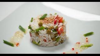 Экзотический вьетнамский салат | 7 нот вегетарианской кухни