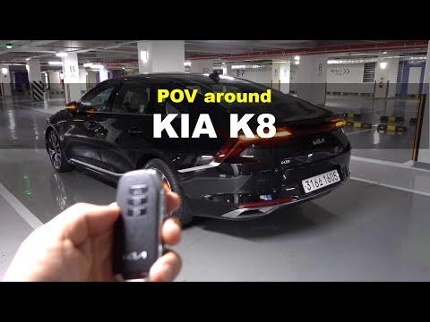 2022 KIA K8 v6 3.5 FWD POV interior and exterior