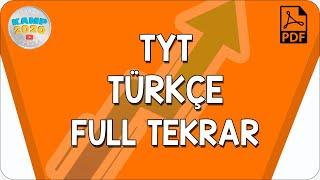 TYT Türkçe Full Tekrar  Yükseliş Kampı 2020