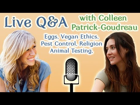 Vegan Ethics: Q&A with Colleen Patrick-Goudreau