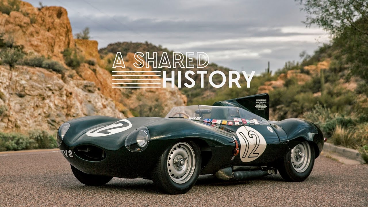 Charming This 1954 Jaguar D Type Represents A Shared History