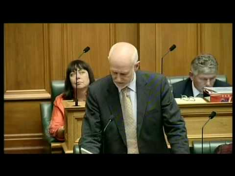 Question Time: Hon Pete Hodgson to the Prime Minister
