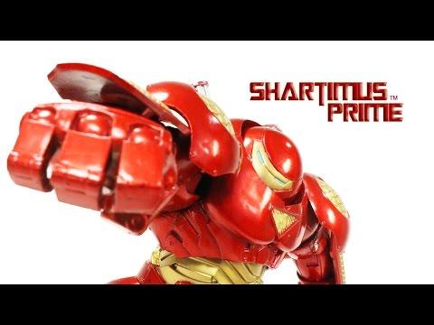 Marvel Select Hulkbuster Iron Man Diamond Select Toys Comic Action Figure Review - 동영상