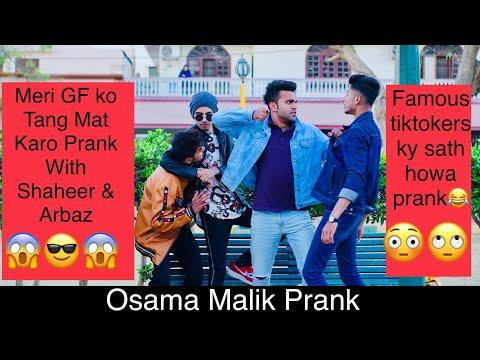 Meri GF Ko Call Mat Karo Prank With Shaheer Kha & Arbaz Taimuri ||Famous Tiktoker || By Osama Malik