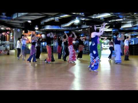 Line Dance- Bengawan Solo - Alison