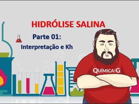 Hidrólise Salina - Parte 1 - Contexto teórico, determinação e interpretação do Kh