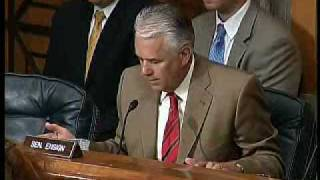 Senator Ensign Questions Why the US Government Supports Companies with Contracts in Iran