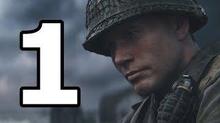 Прохождение Call of Duty WW2 World War 2 — Часть 1 ► День высадки и уничтожение бункеров