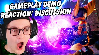STATE OF PLAY GAMEPLAY REACTION / DISCUSSION: Rift Apart Gameplay Demo Trailer (With Chat)
