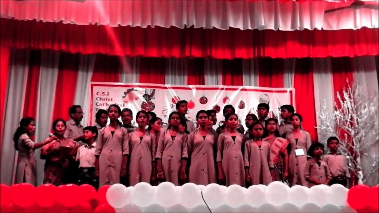 Good News (Christmas Song 2011) by holy trinity csi church choir ...