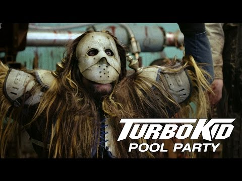 TURBO KID - Pool Party - Official Clip