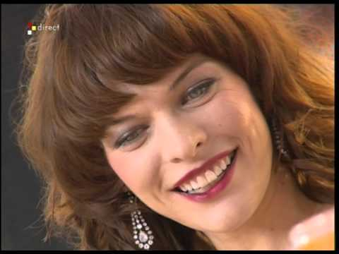 CANNES : Milla Jovovich, Estelle Lefébure,  Aurélien Wiik - On a tout essayé - 20/05/2005