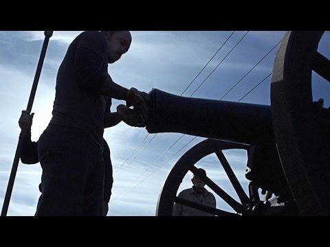 Firing One of the Deadliest Cannons of the Civil War