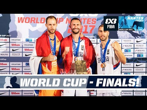 FIBA 3X3 World Cup 2017 - Nantes, France - LIVE - Finals & Dunk Contest!