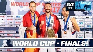 FIBA 3X3 World Cup 2017 - Nantes, France - LIVE - Finals & Dunk Contest! thumbnail