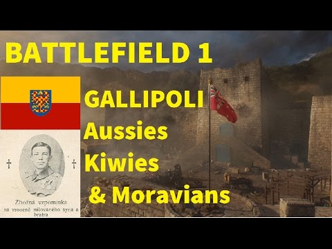 Battlefield 1   Aussies, Kiwies & Moravians   Gallipoli-Dardanelles Campaign   CZ komentář