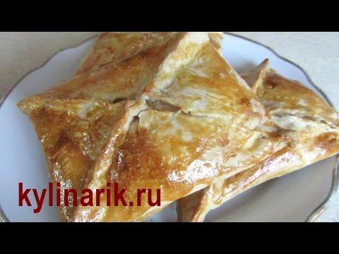 Хачапури с сыром из СЛОЕНОГО теста. Хачапури рецепт в духовке от kylinarik.ru