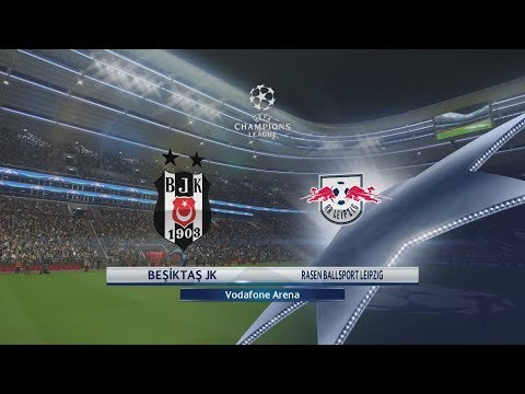 PES 2018 (PS4 Pro) Beşiktaş v RB Leipzig UEFA CHAMPIONS LEAGUE 26/09/2017 REPLAY 1080P 60FPS
