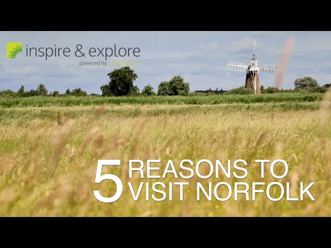Inspire & Explore: 5 Reasons to Visit Norfolk - cottages.com