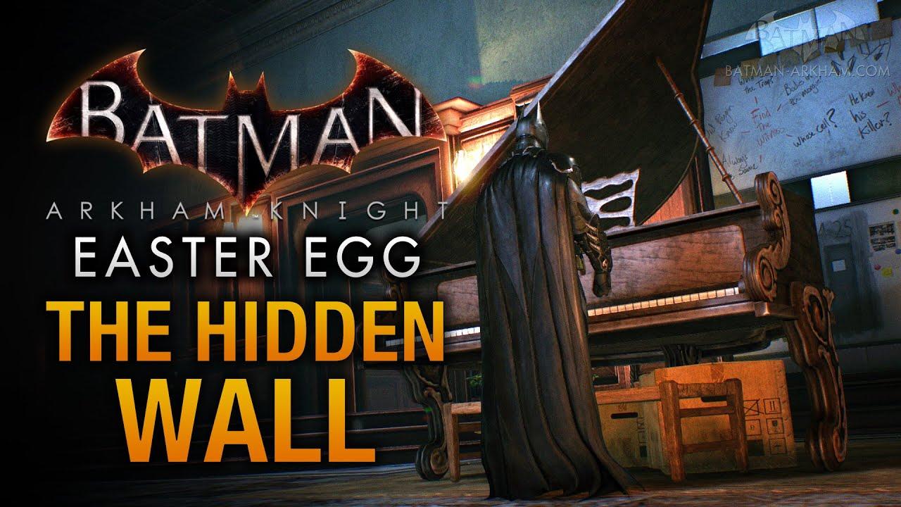 Batman Arkham Vr Easter Egg Was Hidden In Arkham Knight For Months