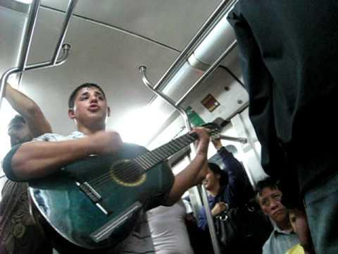 Buenos Aires Street Performer Metro Subte