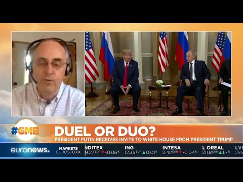 euronews (in English): Duel or Duo? President Putin receives invite to White House from President Trump