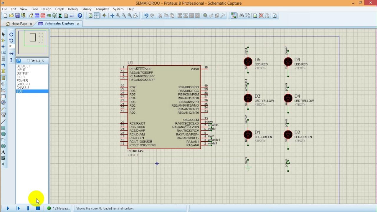Download pic 18f4550 simulacion de un semaforo