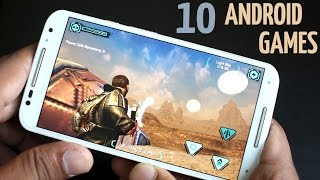 Top 10 Best Android Games 2015 (HIGH GRAPHIC)