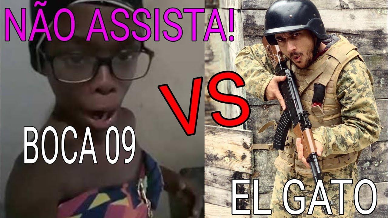 MAIOR CONFRONTO DE COMÉDIA DA HISTÓRIA DO FREEFIRE- BOCA 09 vs EL GATO