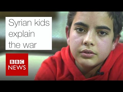 Syrian kids explain