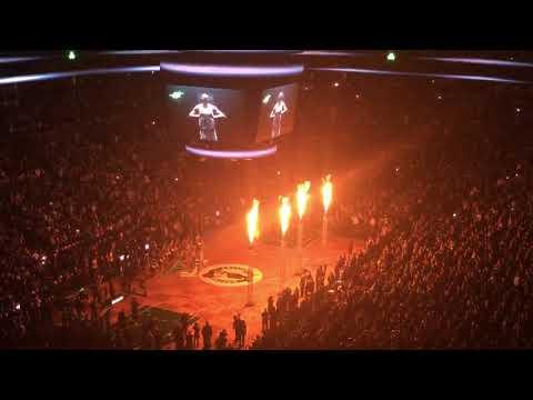 Boston Celtics vs. Golden State Warriors @ TD Garden | Starter intros (11.16.2017)