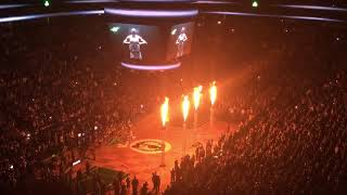 Boston Celtics vs. Golden State Warriors @ TD Garden | Starter intros (11.16.2017)