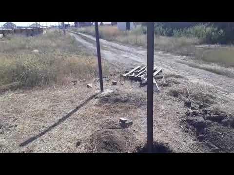 0 - Встановлення стовпів для паркану