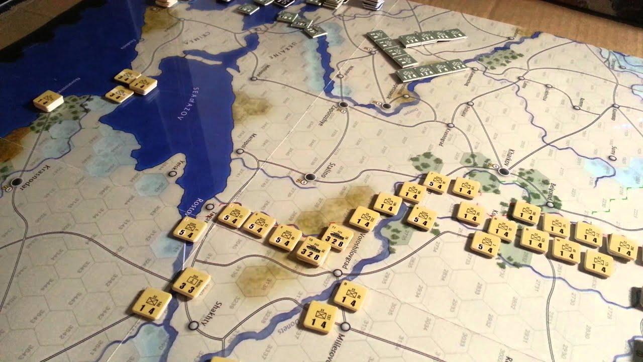 Case Blue Board Game : Scenario: case blue the dark valley youtube