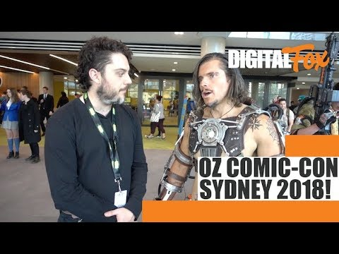 Oz Comic-Con Sydney 2018 Highlights + Review! | Ep. 22 | Digital Fox Does