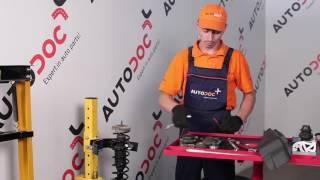 Vyměna přední a zadní Uložení tlumičů VW GOLF III (1H1) - video návody